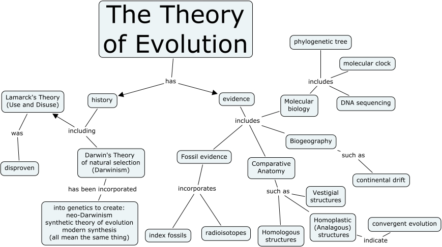 Theory Evolution Natural Selection Charles Darwins Theory Evolution