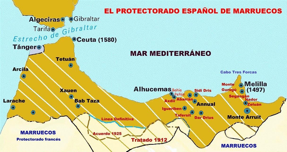 Mapa de España (capitalista) Mapa-protectorado-espa%C3%B1ol-marruecos