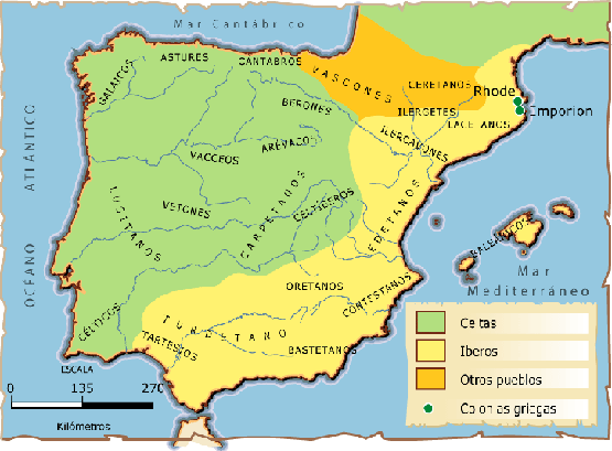 Celtas E Iberos Mapa.Ihmc Public Cmaps