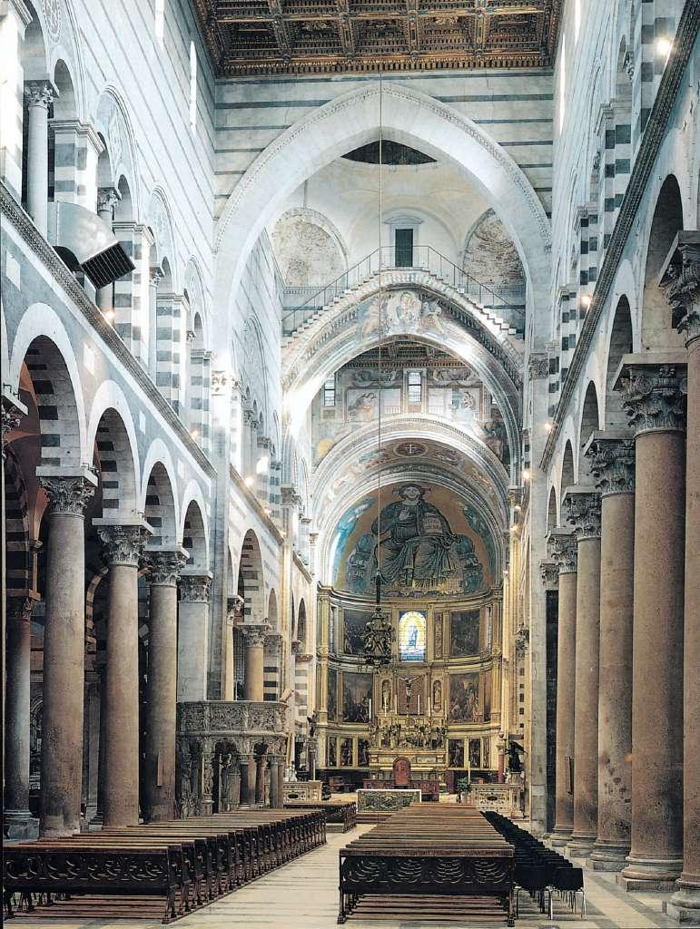 La chiesa romanica quali sono gli aspetti storici for Interno j