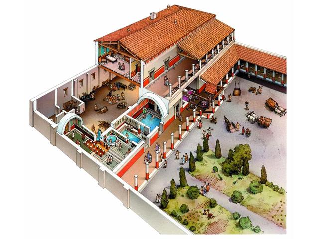 Baños Romanos Merida:epoca romana