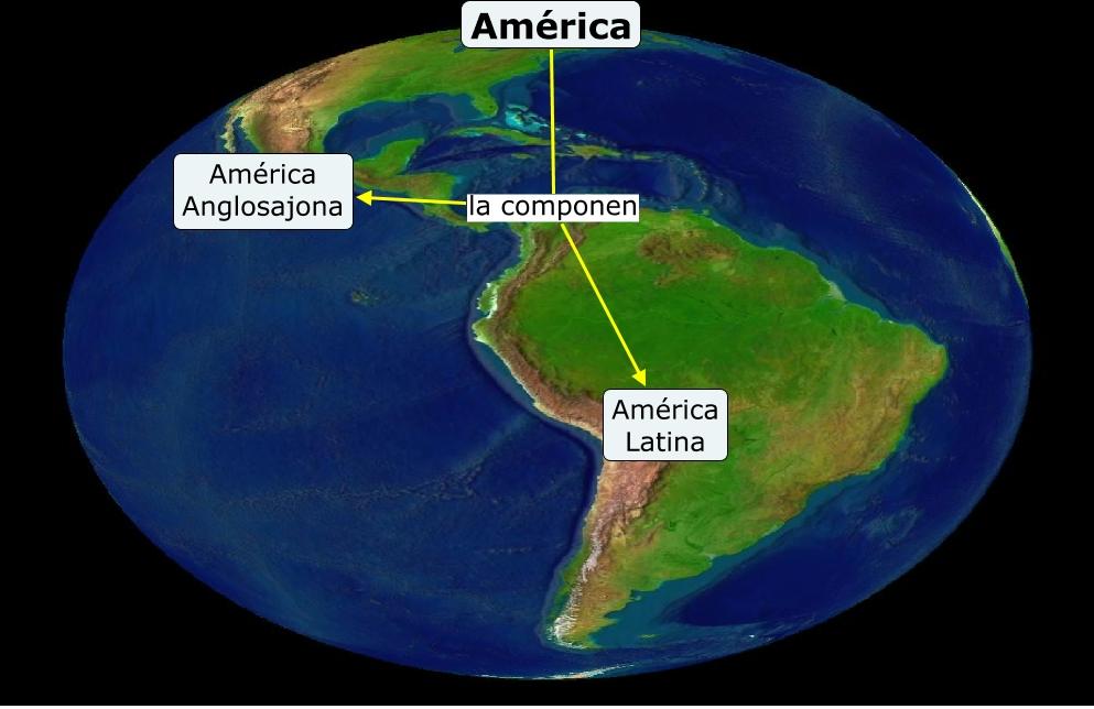 Sub mapa Amrica