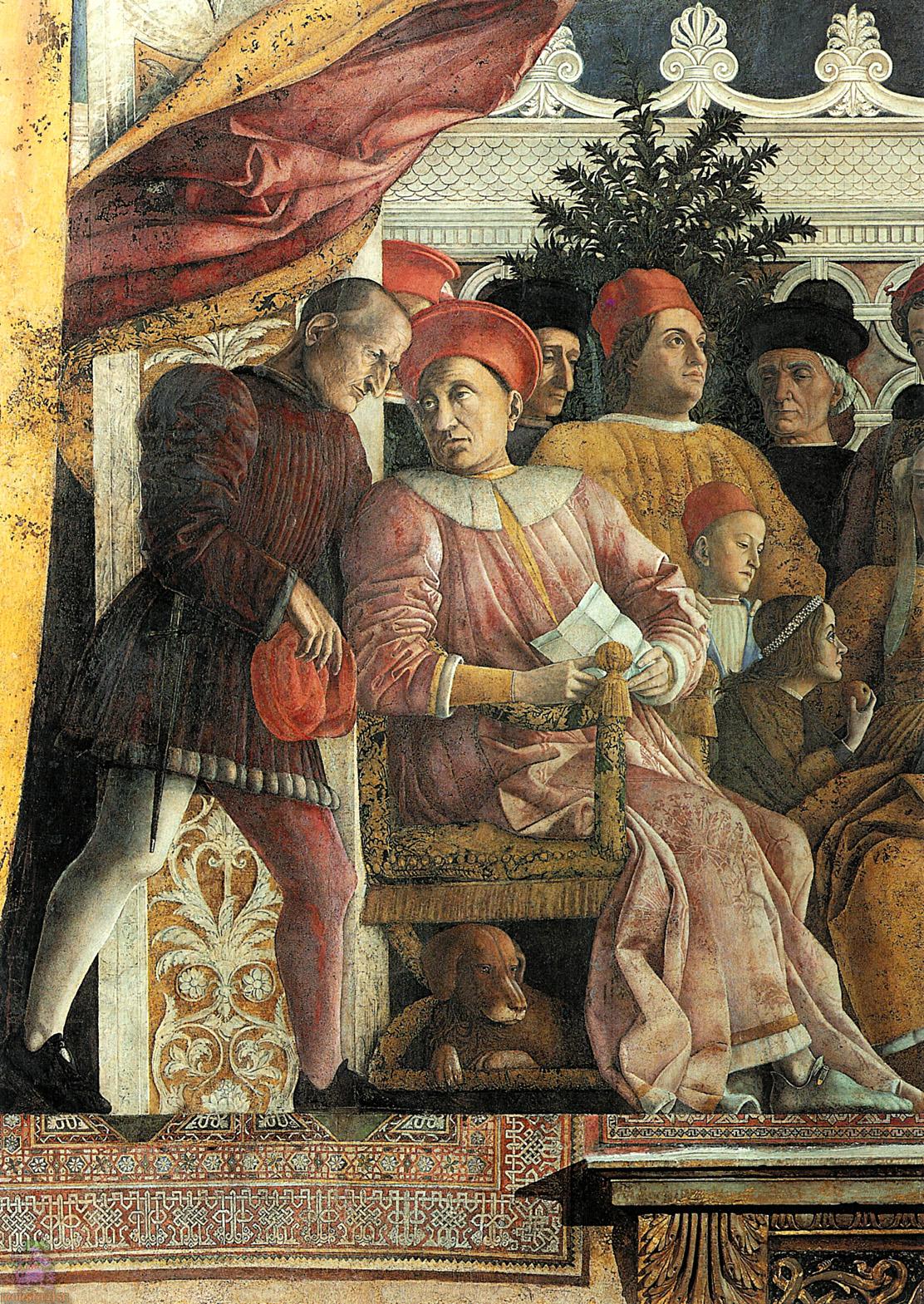 Arte e potere come nasce lo stile ufficiale di un regime for La corte dei gonzaga mantegna
