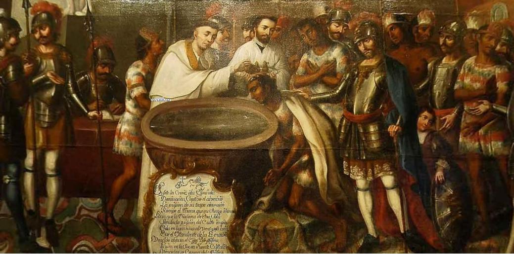 Catequesis Primera Unia N El Credo Para Colorear Espagnol: Gonzalez Ortiz Koraima: La Evangelizacion Colonial En