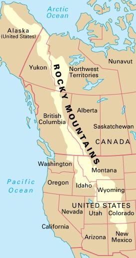 IHMC Public Cmaps - Rocky mountains on us map